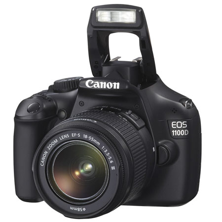 Фотоаппарат зеркальный Canon EOS 1100D Kit 18-55 IS